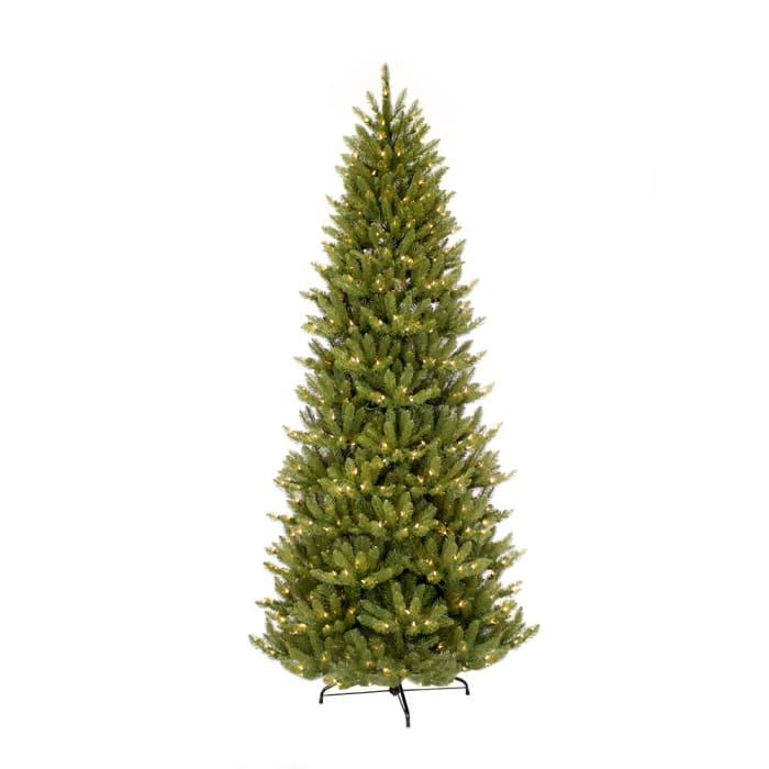 6.5' Pre-Lit Slim Fraser Fir Christmas Tree