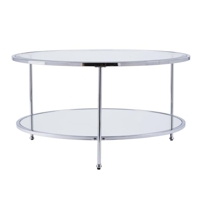 Blackburn Chrome Coffee Table