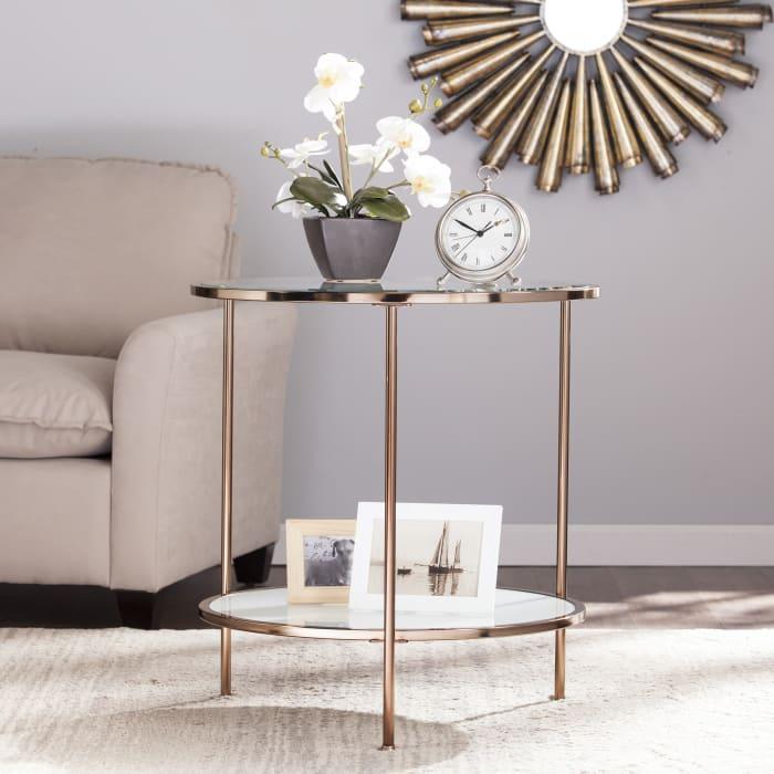 Blackburn Gold End Table
