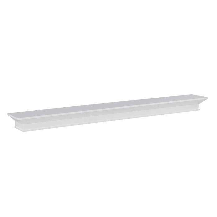 White Mantel Shelf
