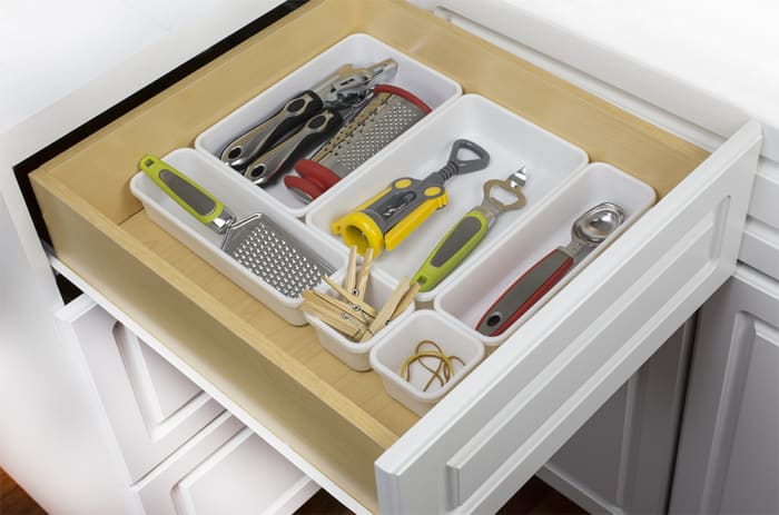 8 Piece Multi Drawer Organizer Set