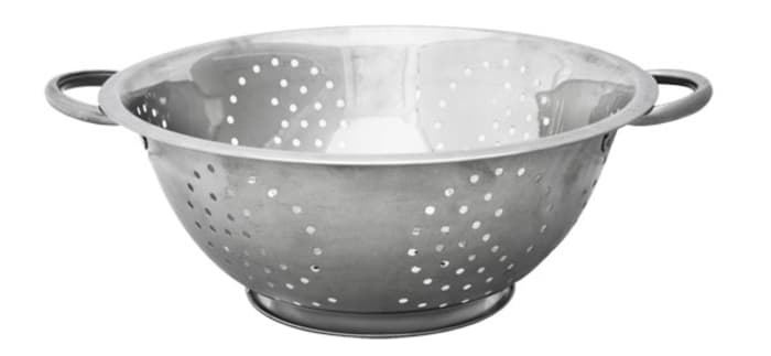 5 QT Stainless Steel  Deep Colander