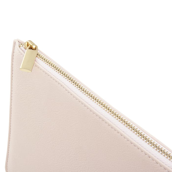 Cathy's Concepts Pink Vegan Leather Clutch