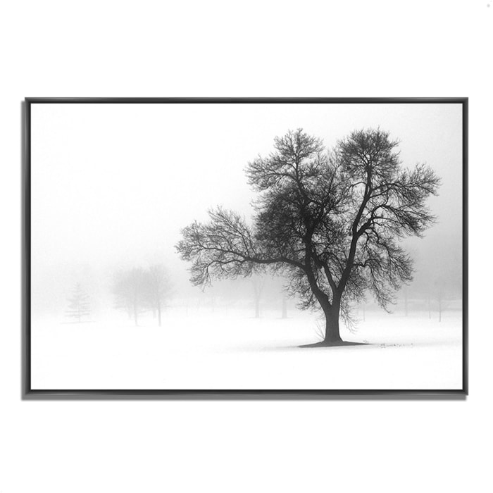 Fine Art Giclee Print on Gallery Wrap Canvas 38 In. x 26 In. Reaching Out Multi Color