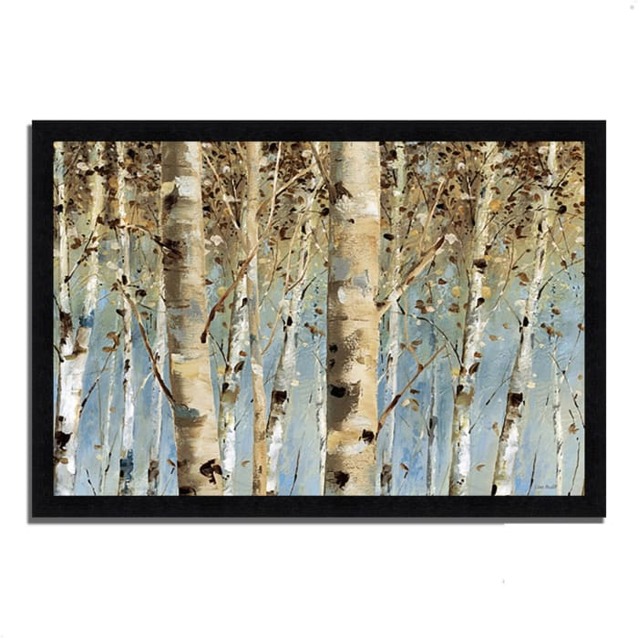 Framed Painting Print 46 In. x 33 In. White Forest I by Lisa Audit Multi Color