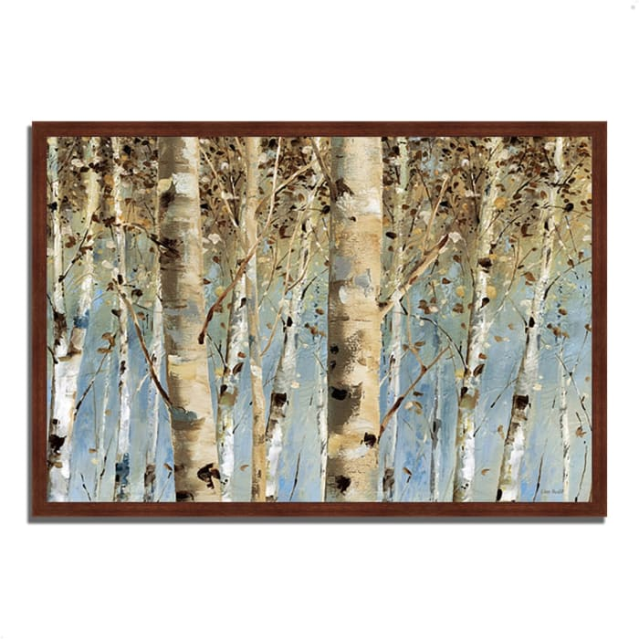 Framed Painting Print 47 In. x 32 In. White Forest I by Lisa Audit Multi Color