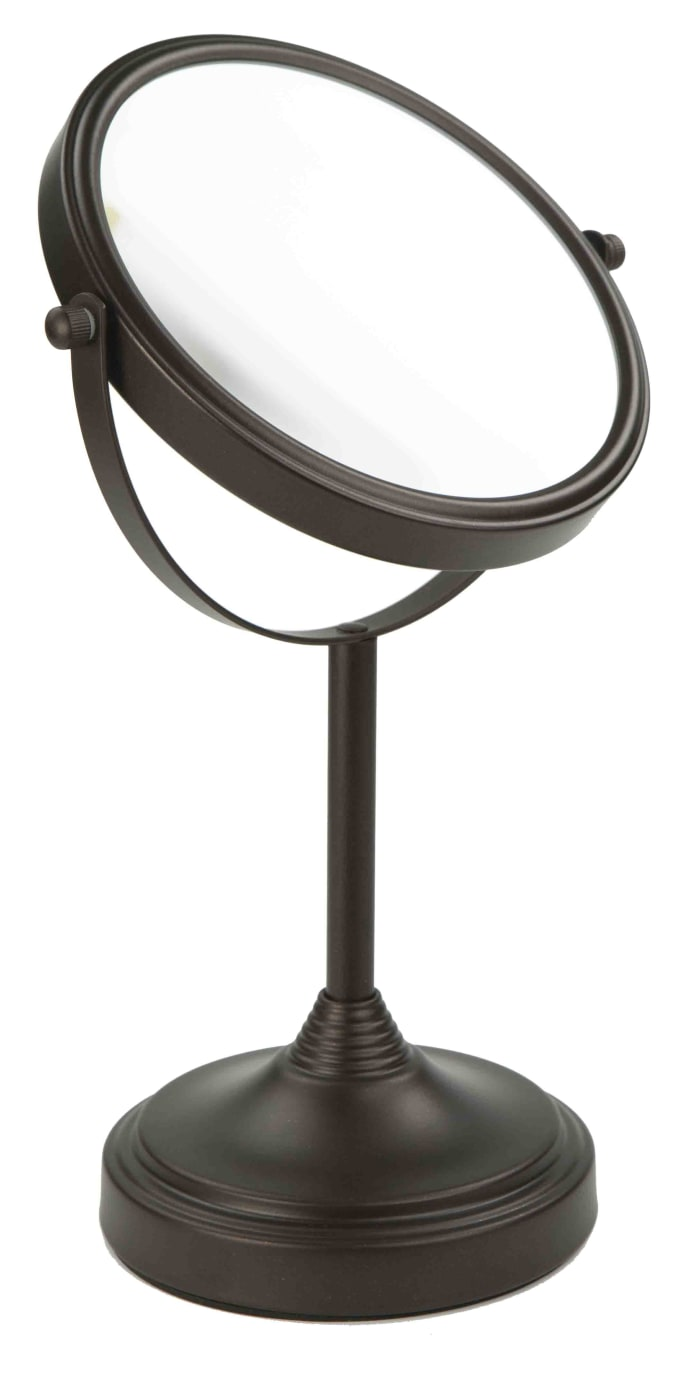 Elizabeth Collection Bronze Double Sided Cosmetic Mirror