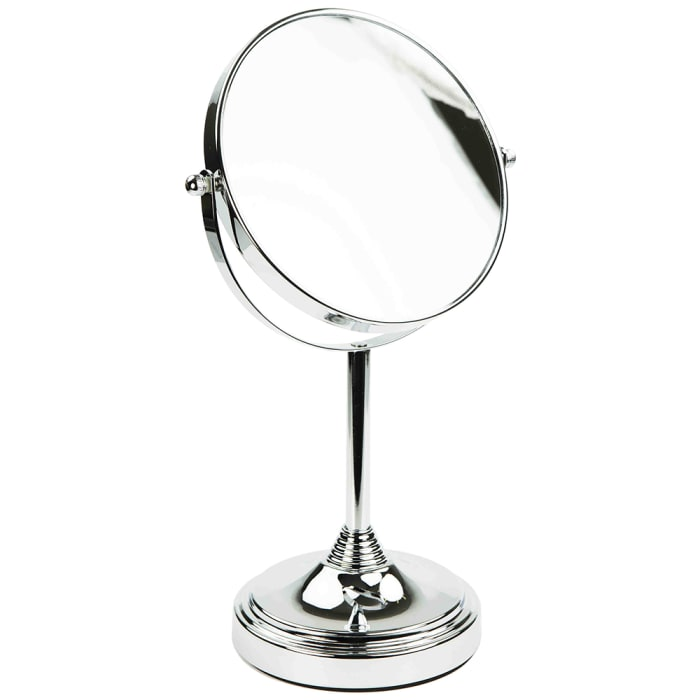 Elizabeth Collection Chrome Cosmetic Mirror