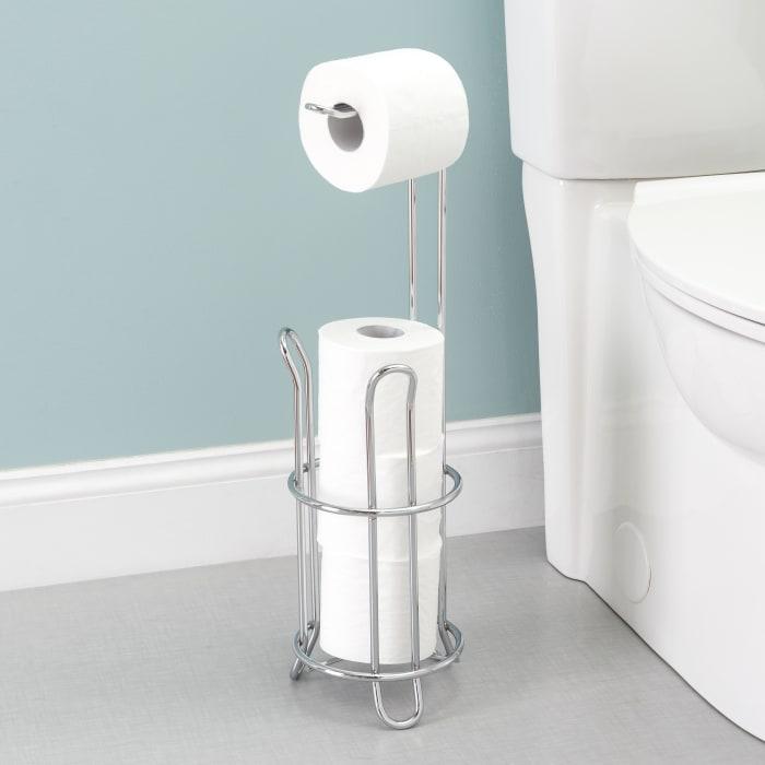 Chrome Plated Steel Toilet Paper Holder