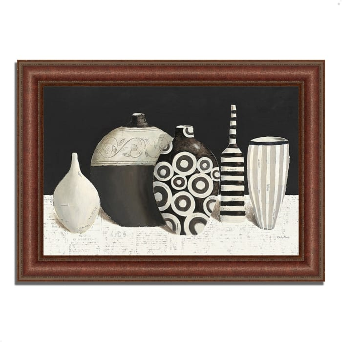 Framed Painting Print 64 In. x 45 In. Objet d'Art by Emily Adams Multi Color