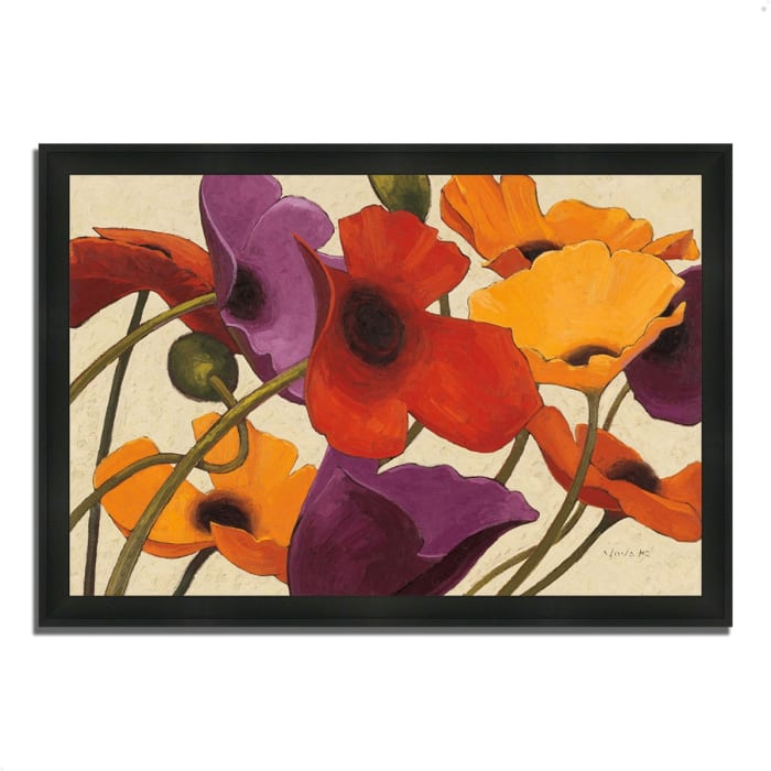 Framed Painting Print 33 In. x 23 In. Up Three by Shirley Novak Multi Color