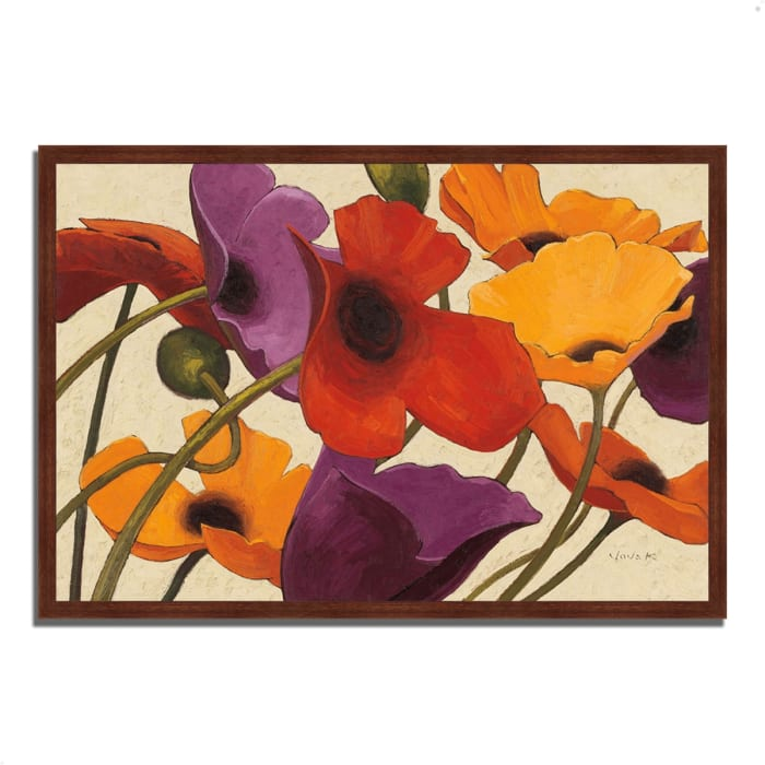 Framed Painting Print 59 In. x 40 In. Up Three by Shirley Novak Multi Color