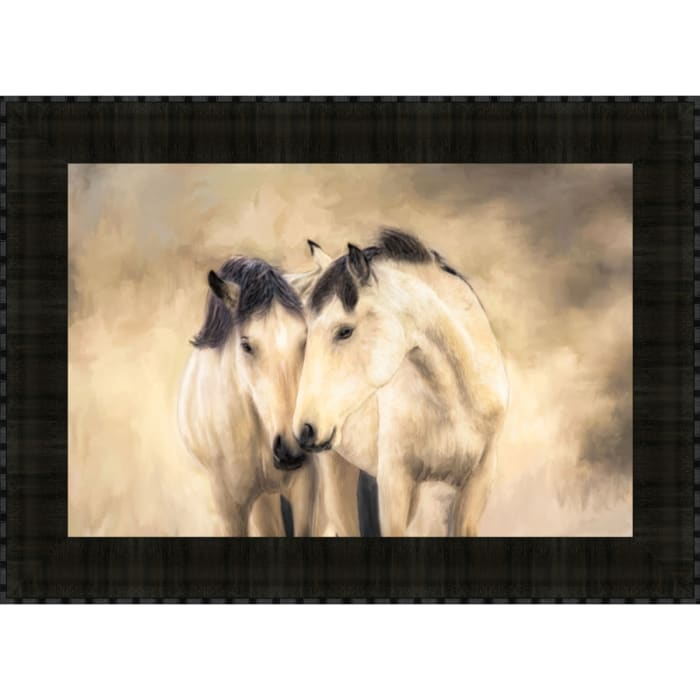 Sisters By Wendy Caro, Framed Wall Art, Multi Color