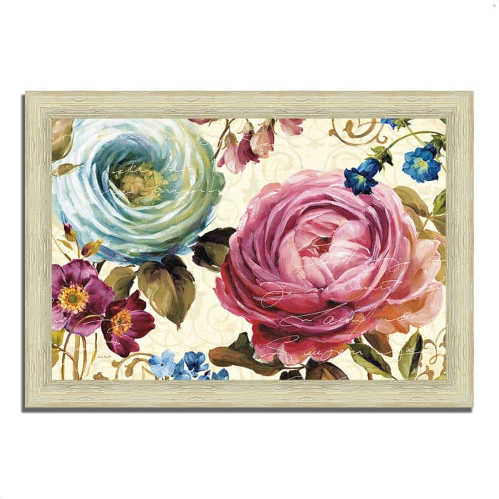 Framed Painting Print 63 In. x 44 In. Victoria's Dream III by Lisa Audit Multi Color