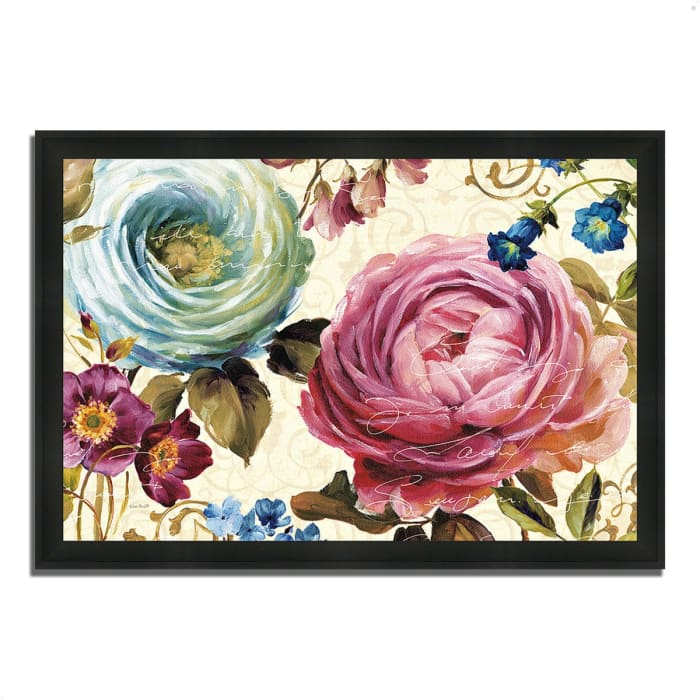 Framed Painting Print 33 In. x 23 In. Victoria's Dream III by Lisa Audit Multi Color
