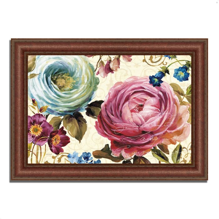 Framed Painting Print 43 In. x 31 In. Victoria's Dream III by Lisa Audit Multi Color