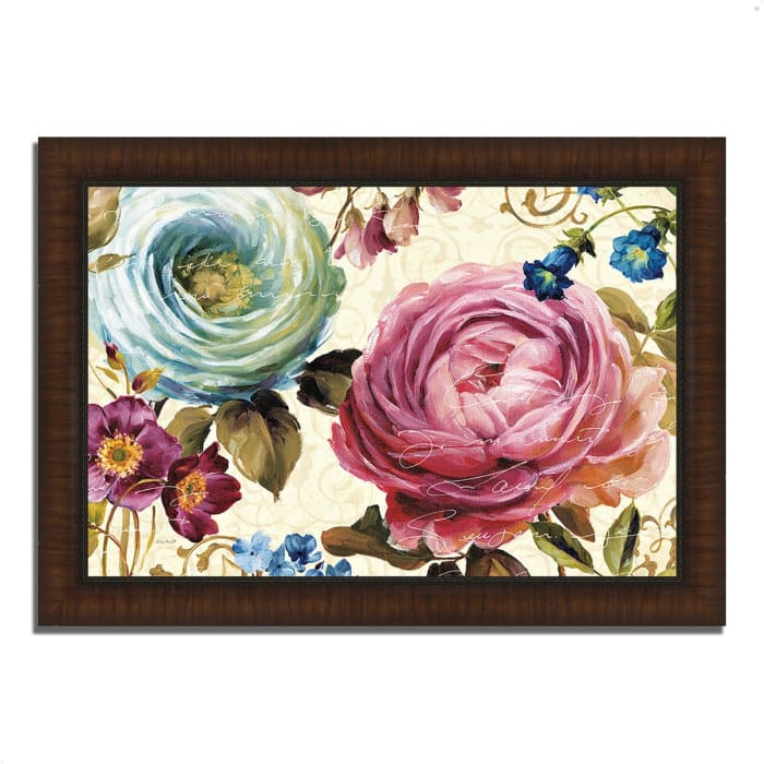 Framed Painting Print 51 In. x 36 In. Victoria's Dream III by Lisa Audit Multi Color