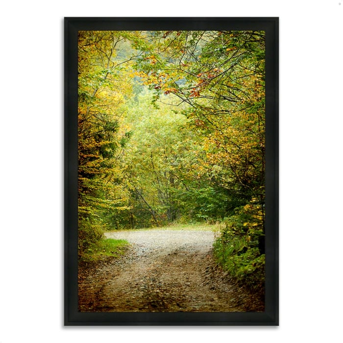 Framed Photograph Print 33 In. x 23 In. Summers End Multi Color