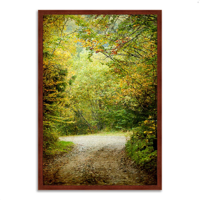 Framed Photograph Print 32 In. x 22 In. Summers End Multi Color