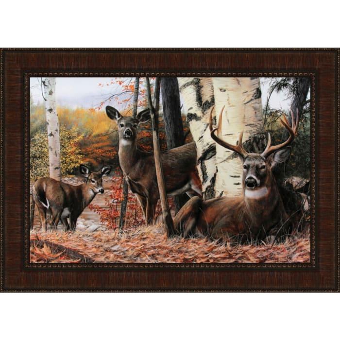Autumn'S Majesty By Kevin Daniel, Framed Wall Art,