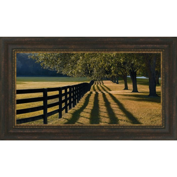 Chasing Shadows By Mike Jones, Framed Wall Art,