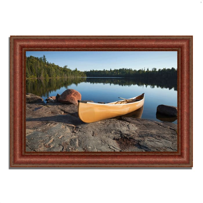 Framed Photograph Print 43 In. x 31 In. Invitation to Relax Multi Color