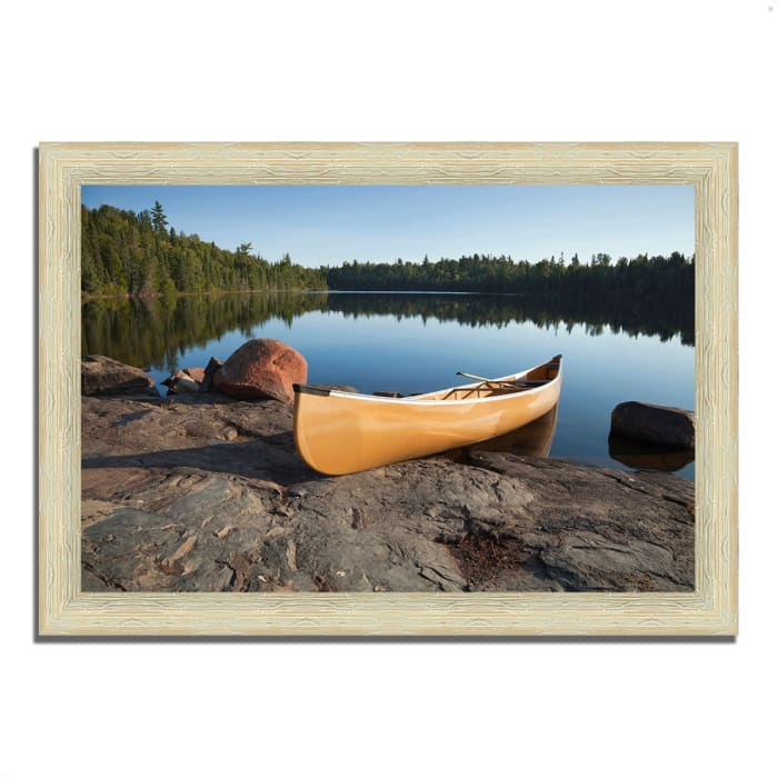 Framed Photograph Print 36 In. x 26 In. Invitation to Relax Multi Color