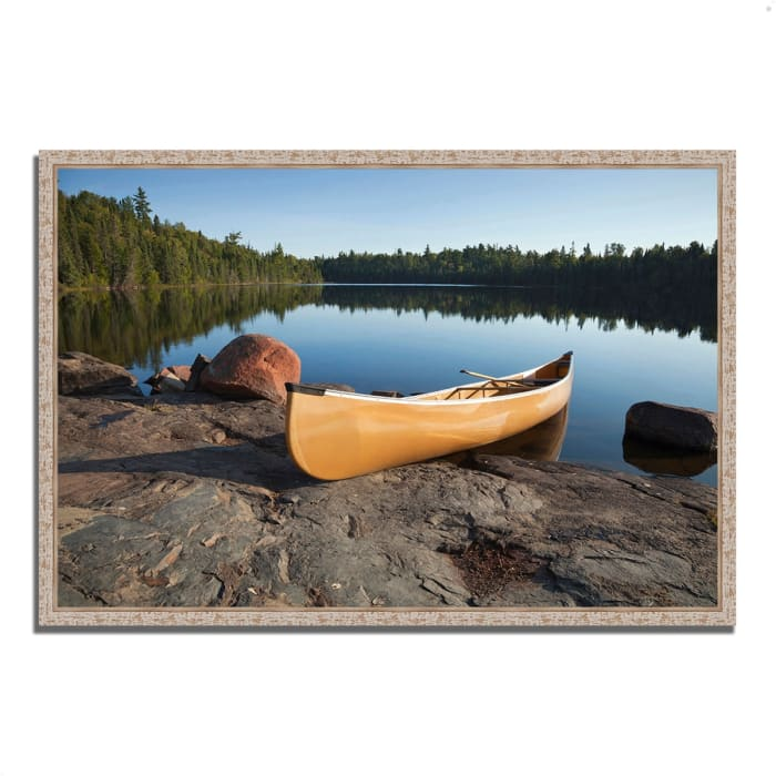 Fine Art Giclee Print on Gallery Wrap Canvas 59 In. x 40 In. Invitation to Relax Multi Color