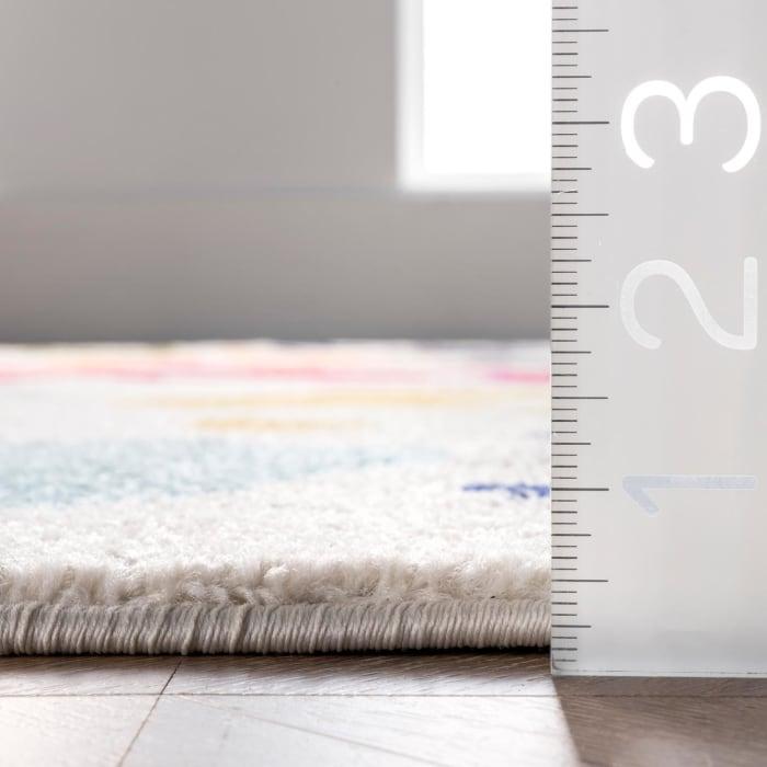 Pinkie Handprint 8' x 10' Multi Rug