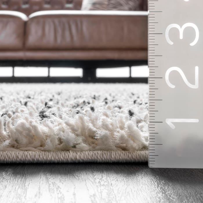 Bria Moroccan Diamond Tassel 8' x 10' Off White Rug