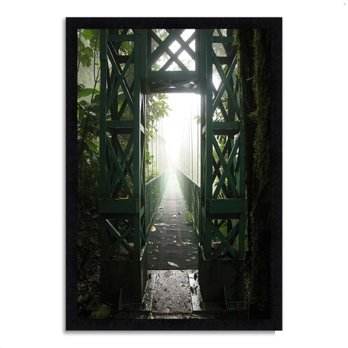 Framed Photograph Print 33 In. x 46 In. Destiny Multi Color