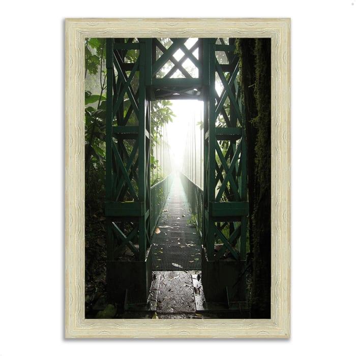 Framed Photograph Print 44 In. x 63 In. Destiny Multi Color