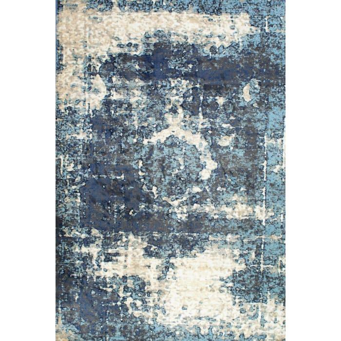 Vintage Lindsy 6' x 9' Blue Rug
