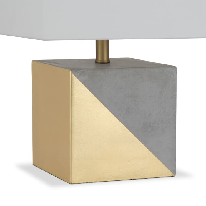 Severin Gold-Dipped Concrete Table Lamp