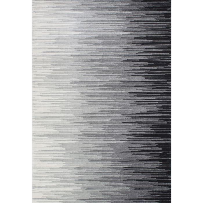 Lexie 5' x 8' Black Rug