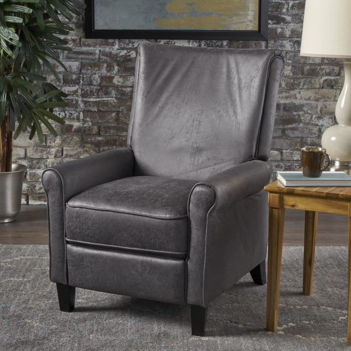 Traditional Upholstered Recliner