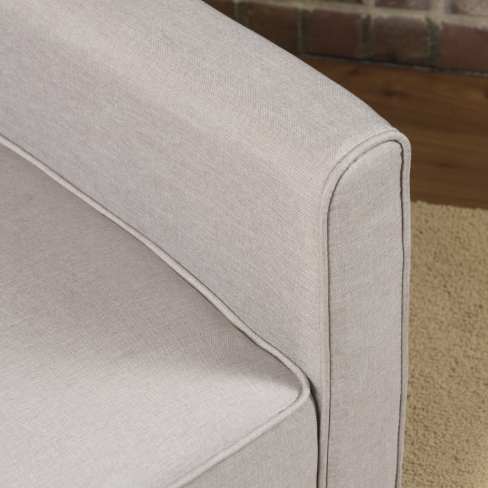 Wheat Upholstered Recliner