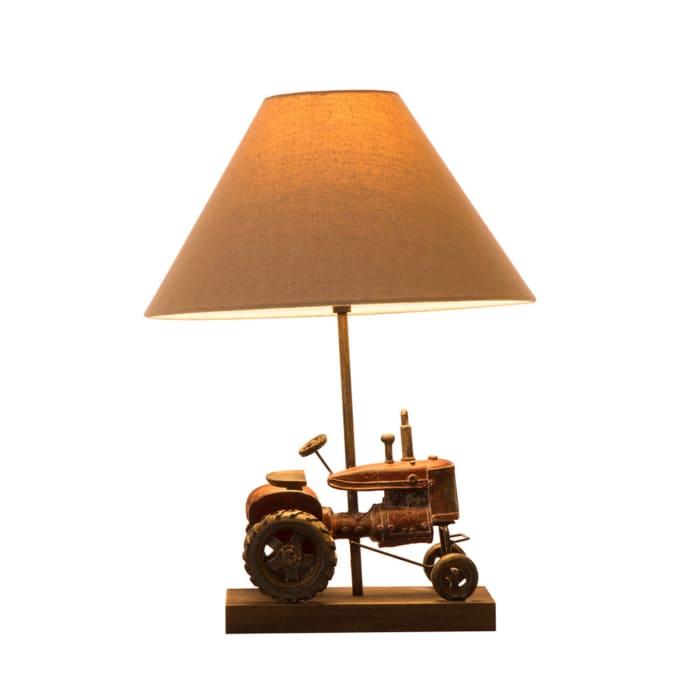 Farmhouse Tractor Table Lamp