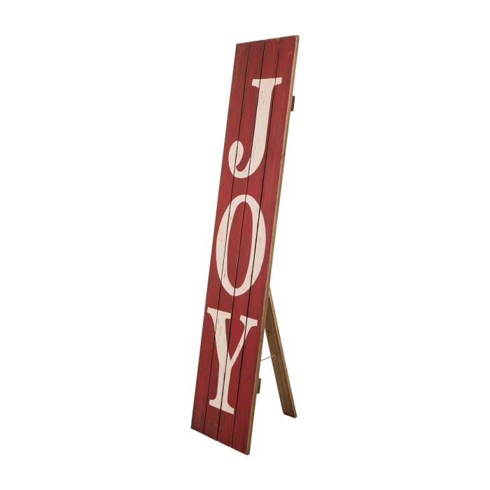 Joy Wooden Porch Sign
