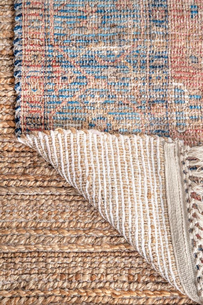 Diandra Flatweave 8' x 10' Multi Jute Rug