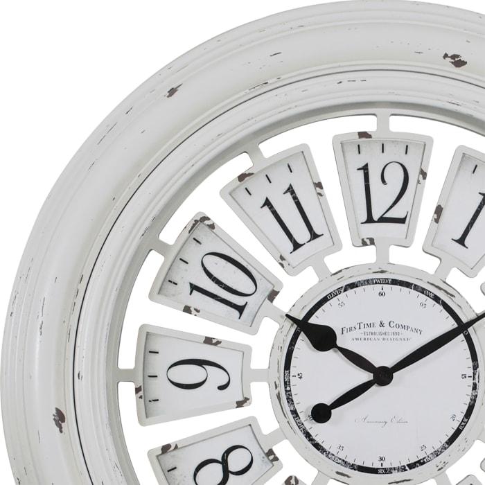 Farmhouse Plaques Round Wall Clock