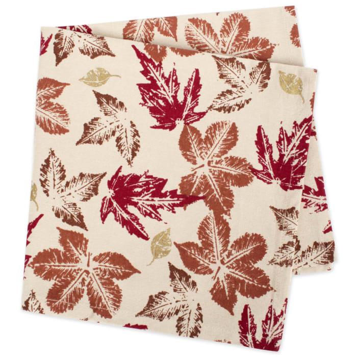 Rustic Leaves Napkin Set