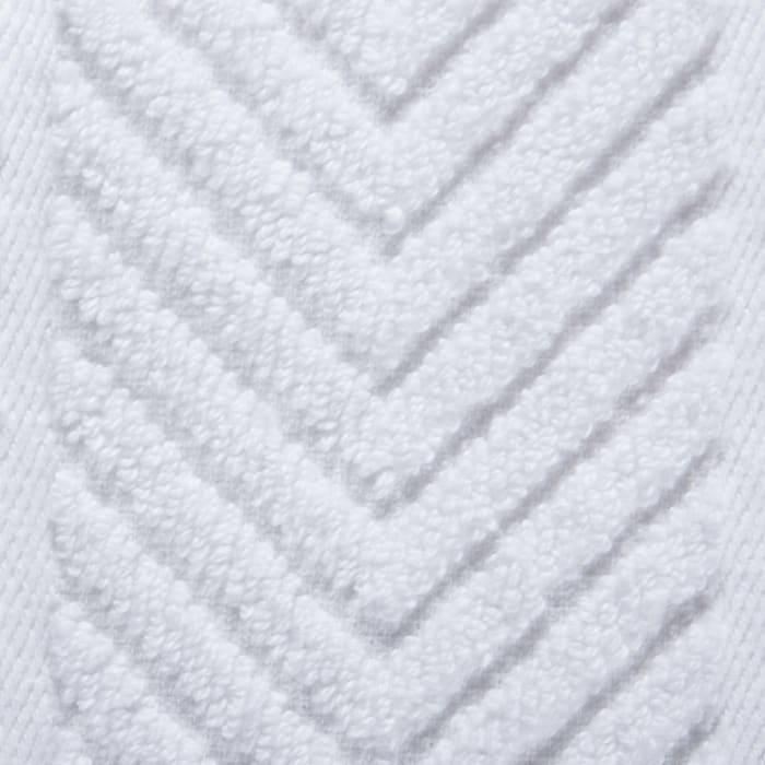 Textured White Dish Towel Set of 4