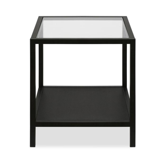Rigan Blackened Bronze Side Table
