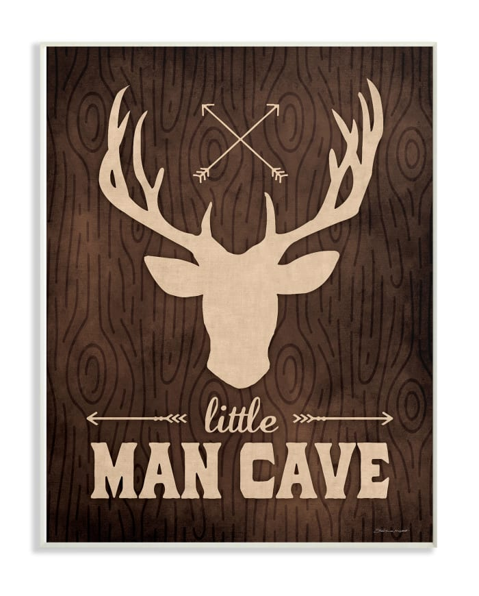 Rustic Little Man Wall Plaque Art