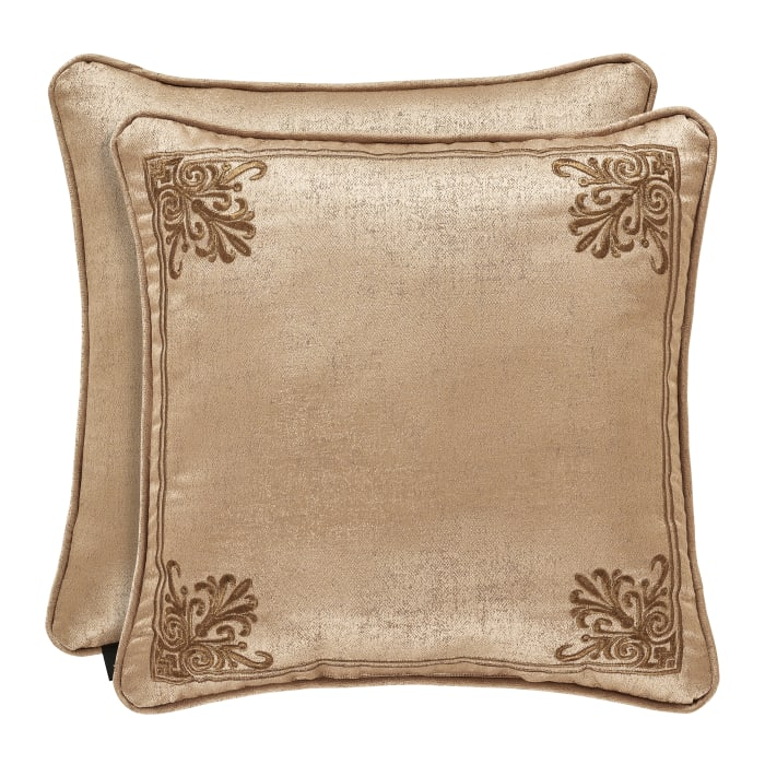 Gold Square Pillow