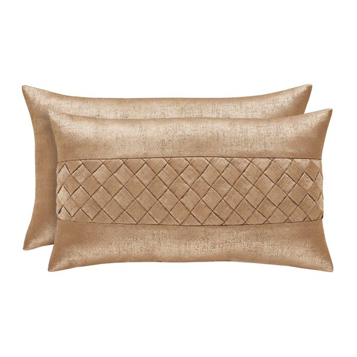 Gold Boudoir Pillow