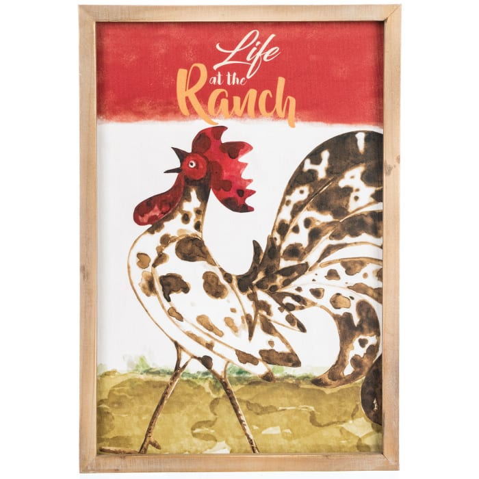 The Ranch Rooster Wall Decor