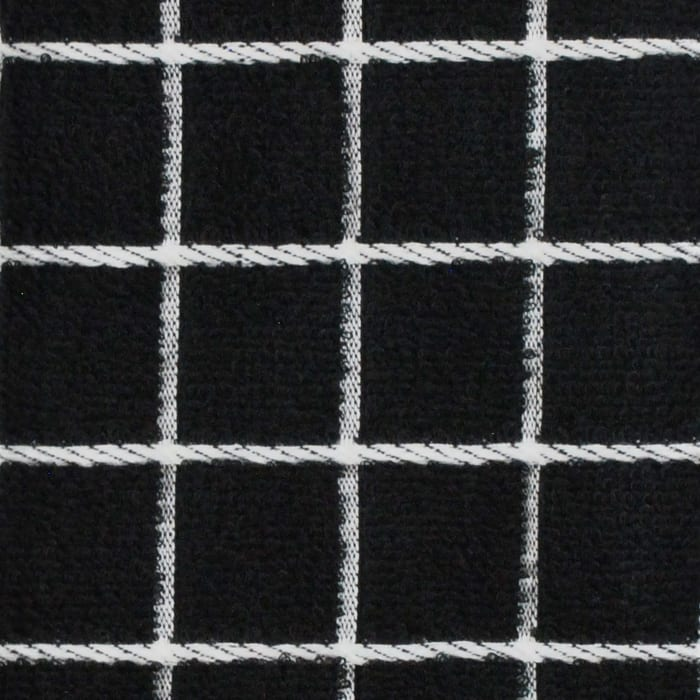 Black Tiled Dish Towel