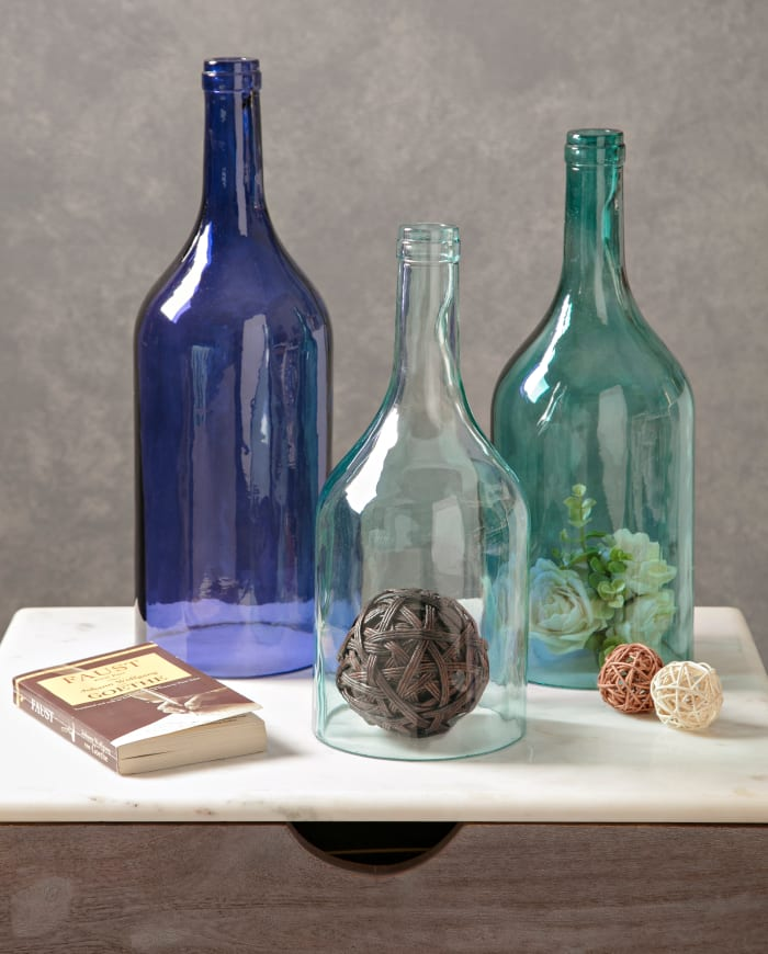 Glass Bottles Set